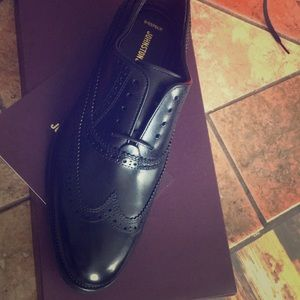 Brand New Johnston & Murphy lace up loafers